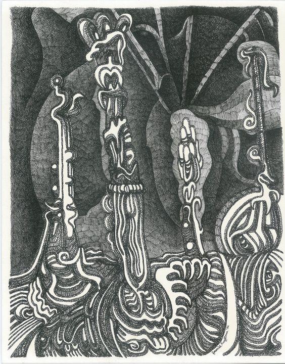 GROWTHS  by  JEREMIAH KAUFFMAN - LYNN KAUFFMAN