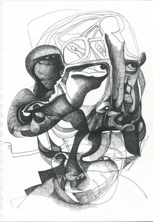 THE LURKING  by  JEREMIAH KAUFFMAN - LYNN KAUFFMAN