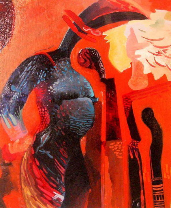 THUNDER  by  JEREMIAH KAUFFMAN - LYNN KAUFFMAN