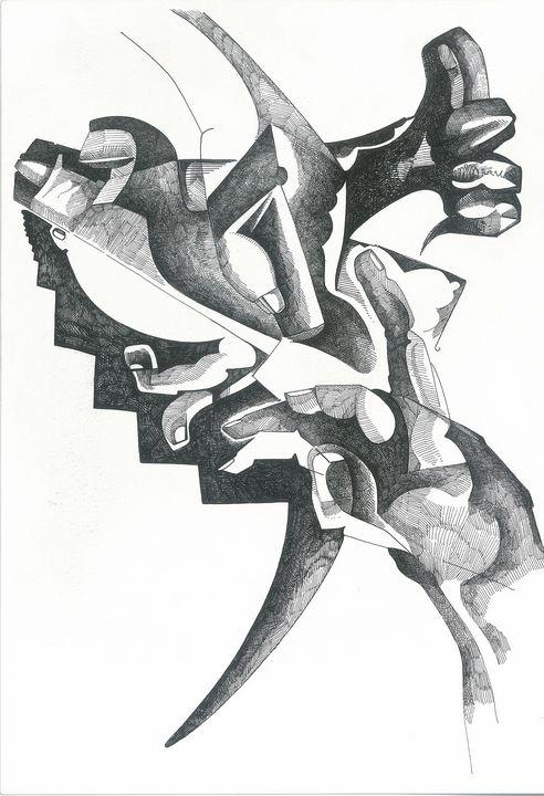 FINGERS   by   JEREMIAH KAUFFMAN - LYNN KAUFFMAN