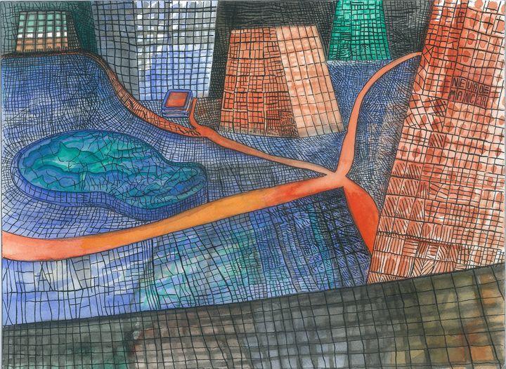 A CITY by JEREMIAH KAUFFMAN - LYNN KAUFFMAN