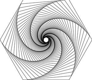 Spiral Hexagon