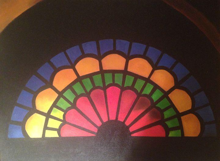 Colorful Window - Dawn