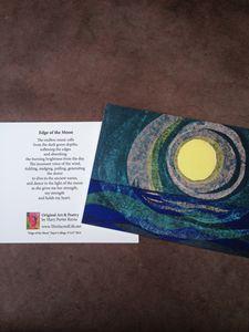 Notecard - Edge of the Moon