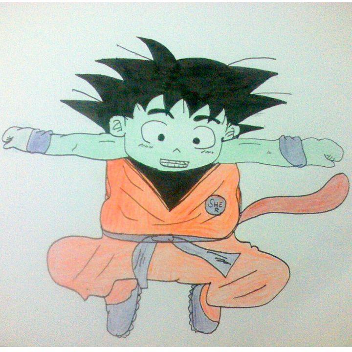 Kid Goku - Shehryar Ahmed