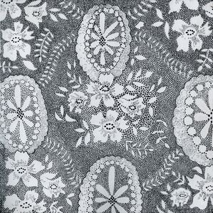 Hand drawn lace