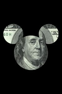 $100 Bill Mickey Mouse Parody