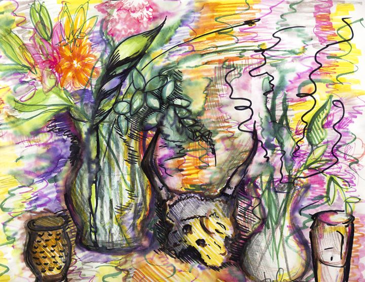 Gen's Apartment - Shattered Spectrums Art