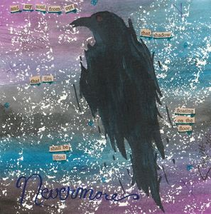 Nevermore - WaterColor Collages by Scarlett