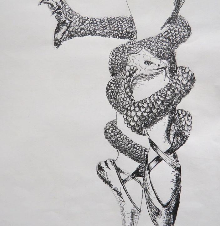 Ballet snake ribbons - Alyssa Mansfield