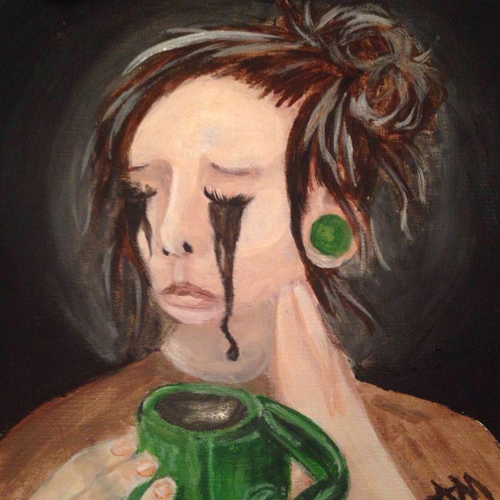 Tearful coffee - Alyssa Mansfield