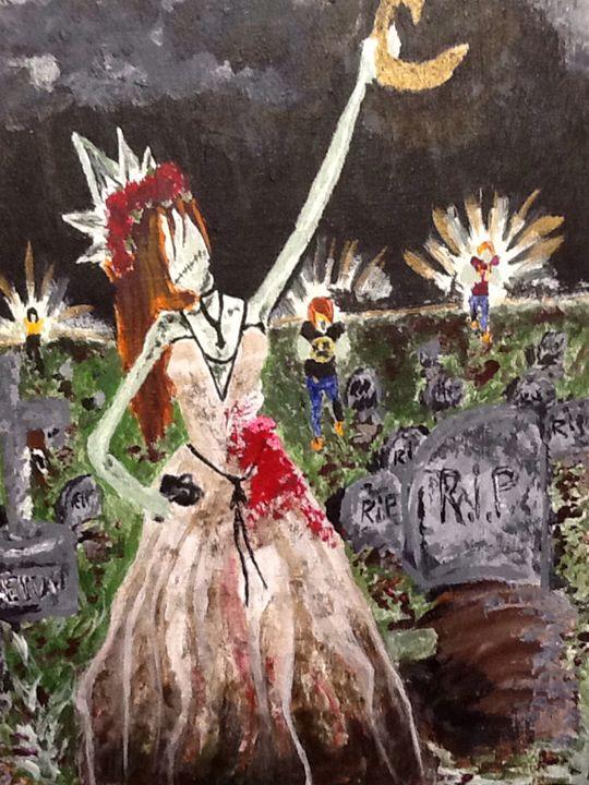 Zombie queen - Alyssa Mansfield