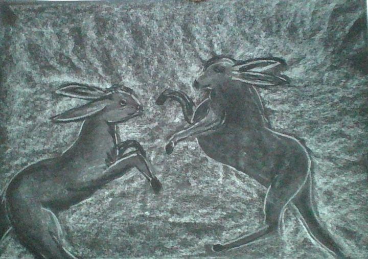 march hares - keith elwyn