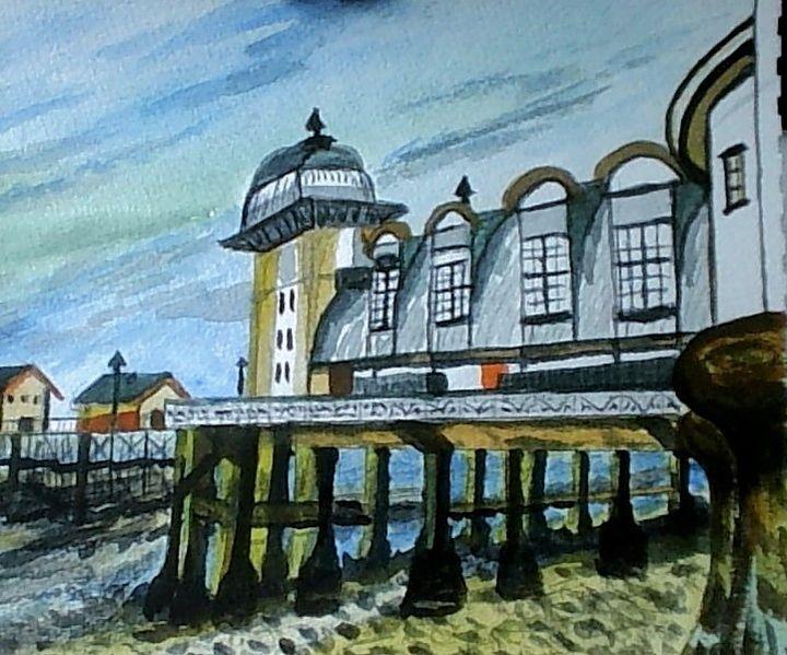 penarth pier,  s/wales - keith elwyn
