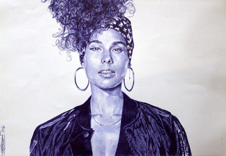 Ms. Alicia Keys - Deborah Tomasowa