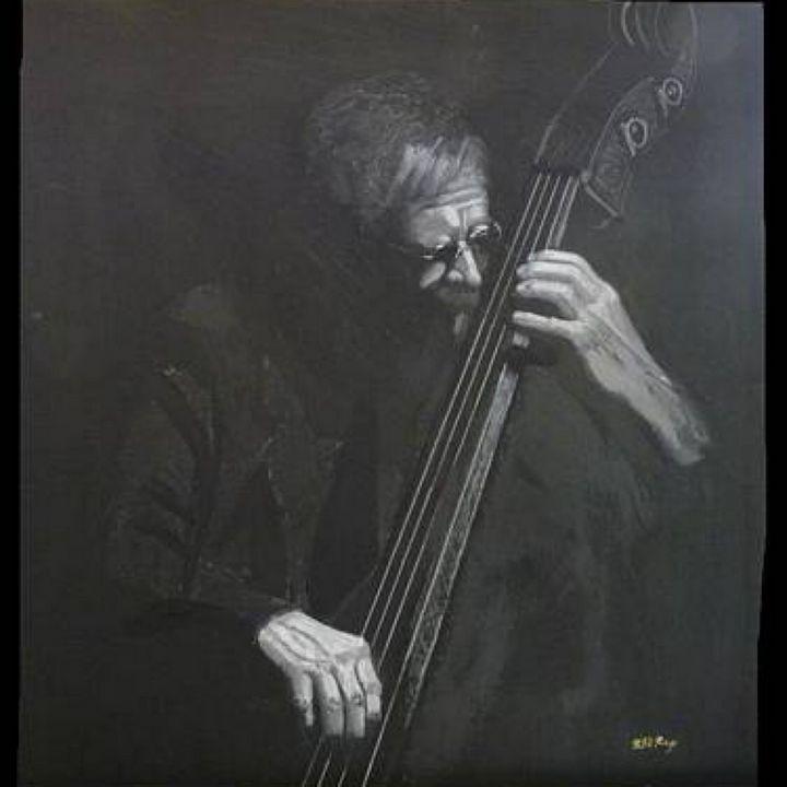 Double Bass Player - Le Page Fine Art