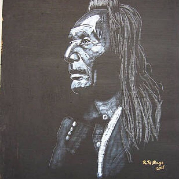 Native American Indian - Le Page Fine Art