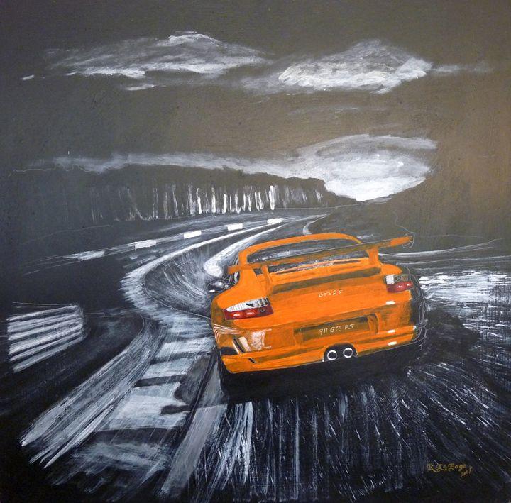 Porsche GT3 Le Mans - Le Page Fine Art