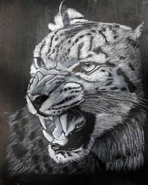Snow Leopard - Le Page Fine Art