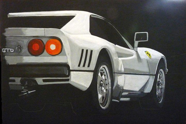 Ferrari GTO - Le Page Fine Art