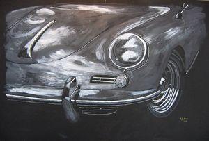 356 Porsche Front