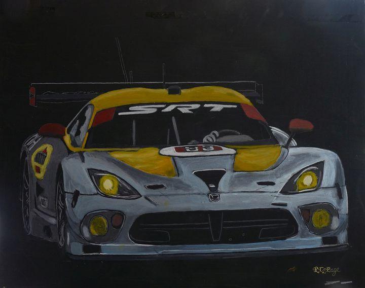SRT Dodge Viper GTS Laguna Seca - Le Page Fine Art