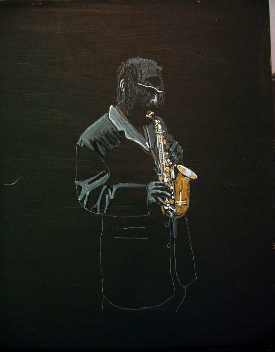 Sax Player - Le Page Fine Art