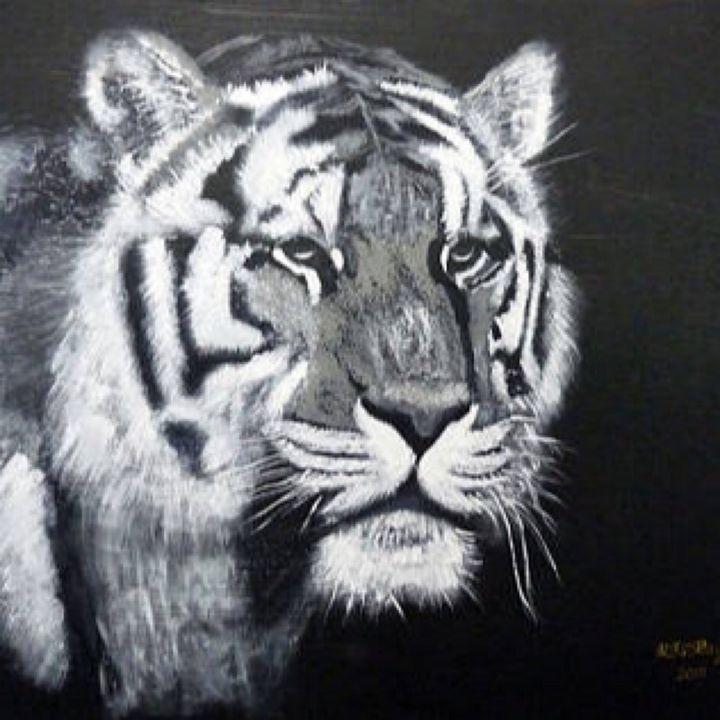 Tiger Face - Le Page Fine Art
