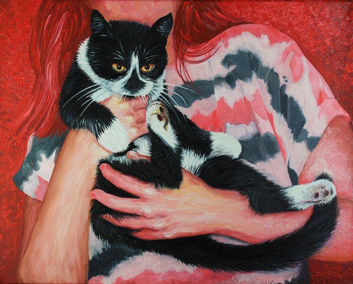 Beths Black and White Cat =^.^= - Simon Mark Knott