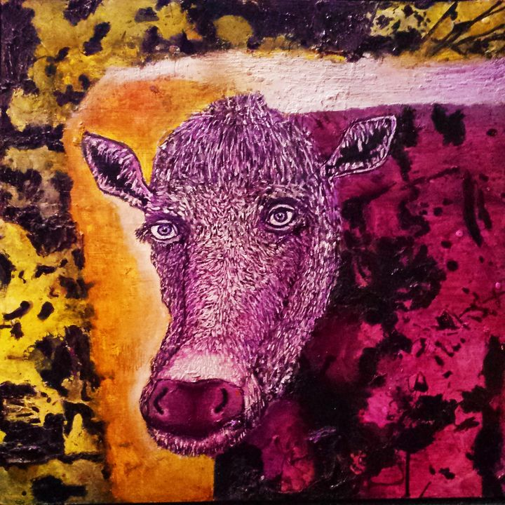 Cow 2 - Stephen Clements Art