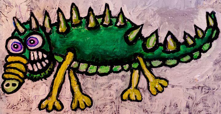 Dragon 2 - Stephen Clements Art