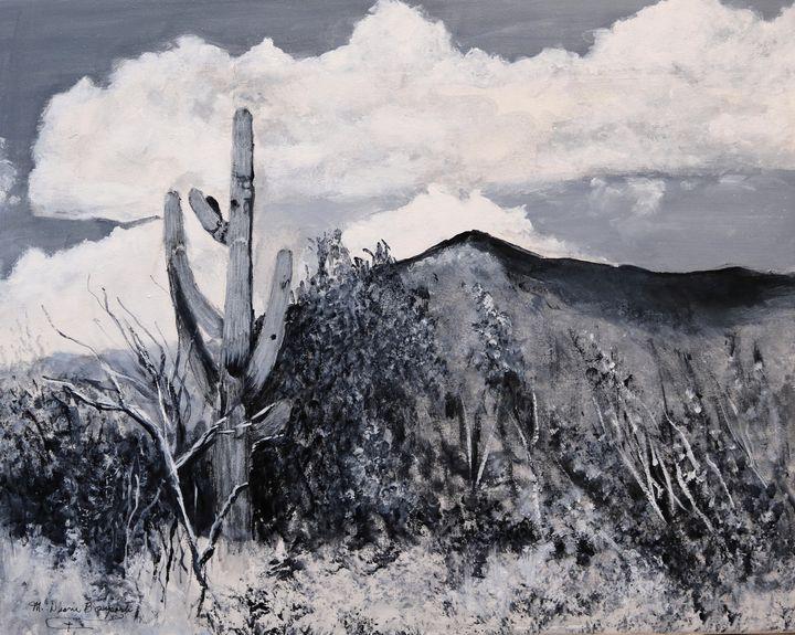 Saguraro Landscape - M Diane Bonaparte