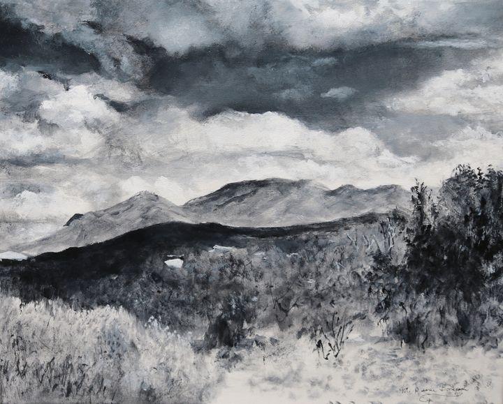 Desert Landscape - M Diane Bonaparte