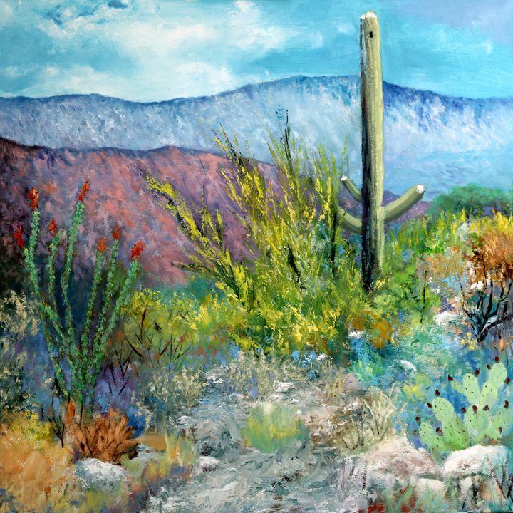 Desert Spring Colors - M Diane Bonaparte
