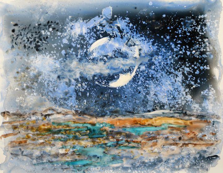 Moonscape 2 - M Diane Bonaparte