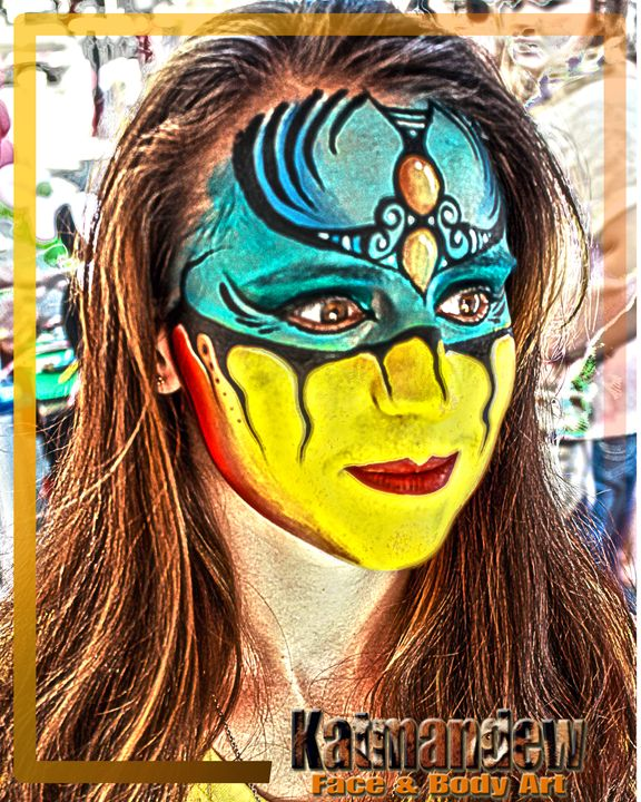Warrior - Katmandew Face & Body Art