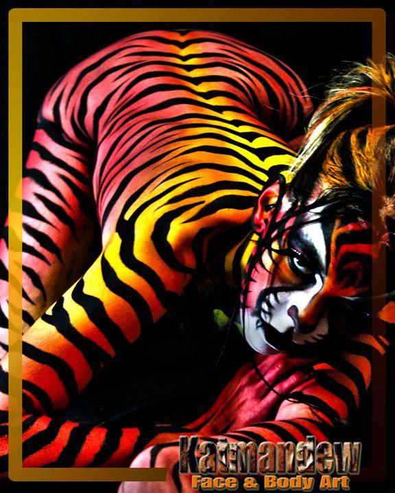 Feline Red - Katmandew Face & Body Art