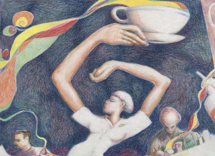 CoffeeCupWaitress, - Vincent Randlett