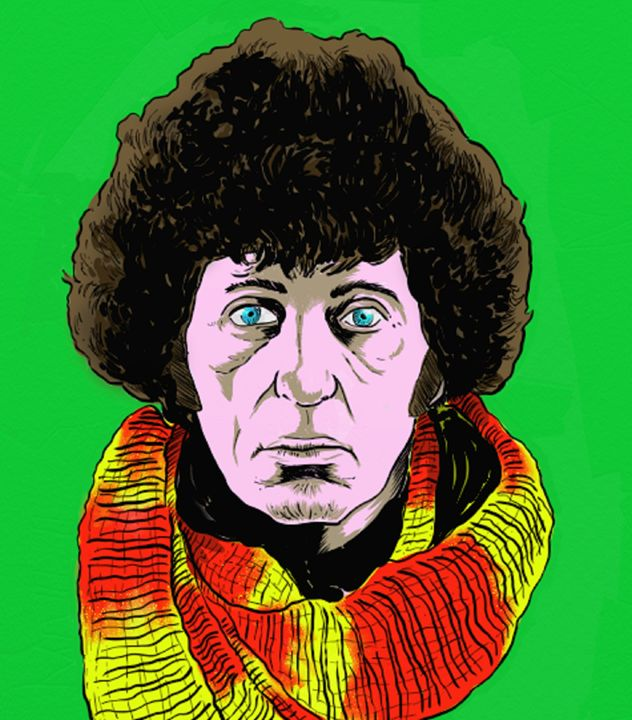 Dr Who - the illustrations of Brian Typhair