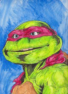 Raphael Turtle Power