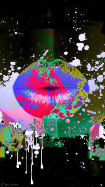 The kiss - K. Yolonda