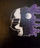 Deep space skull