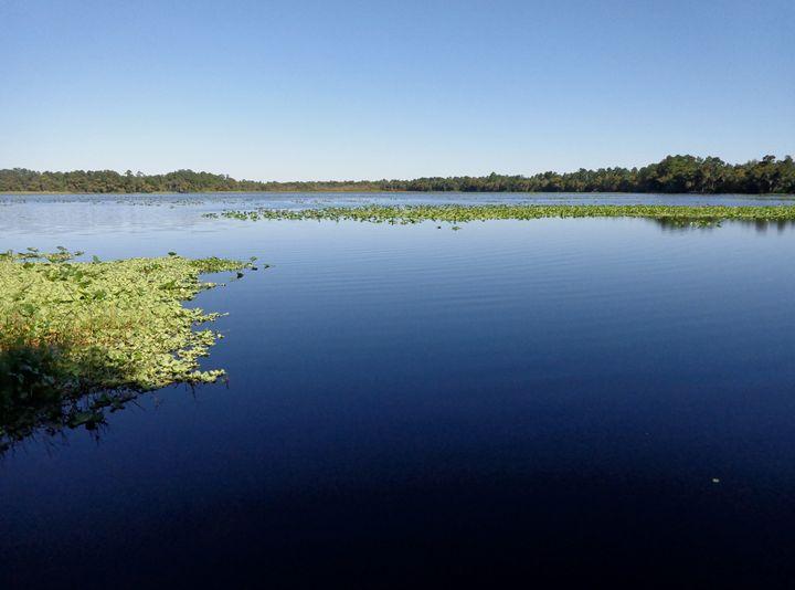 Blue Lake - Traveler Wendell