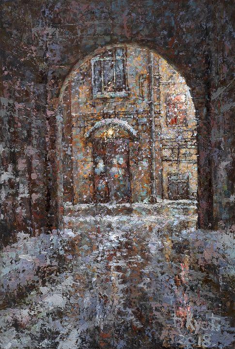 Petersburg yard - Dmitry Kustanovich