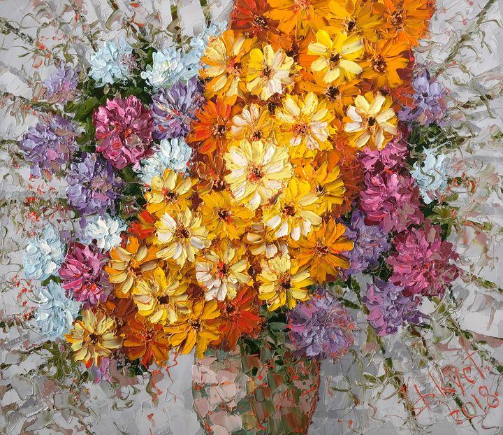 Autumn bouquet - Dmitry Kustanovich