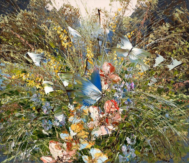 Butterflies and herbs - Dmitry Kustanovich
