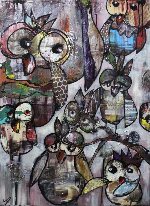Owls eyes - Manar Albasha
