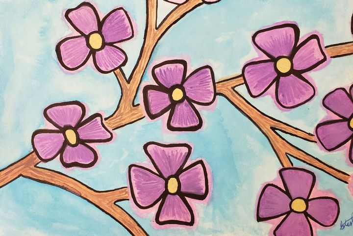 Purple flowers - Todd Pope