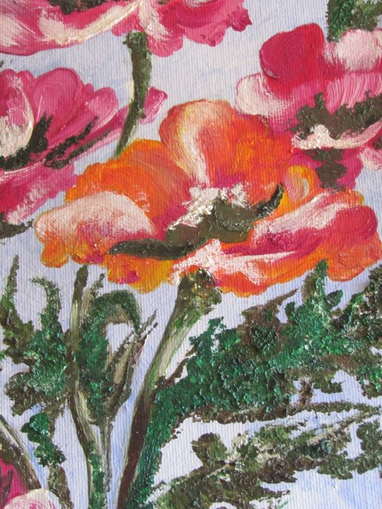 Colorful bloom - Abha's Art