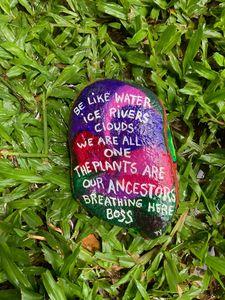 Ancestor rock poem